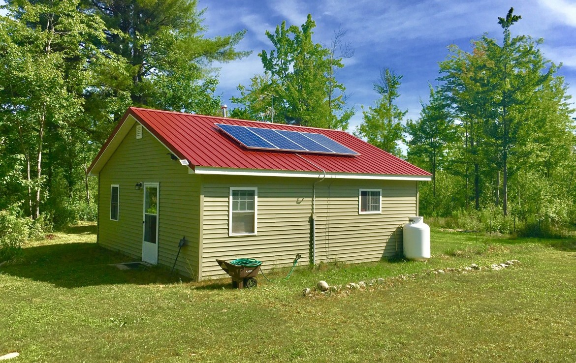4 acres Land for sale with Off-Grid Cabin in Hopkinton, NY!