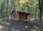 3 acres Cabin Bordering State Land Root NY