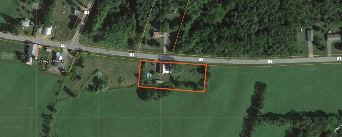 1.4 acres with renovated farmhouse.