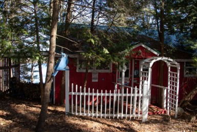 3.4 acres Two Cabins on Leland Pond Eaton NY